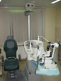 Рабочее место офтальмолога